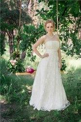 Свадебные платья для беременных и больших размеров