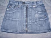 Продам дешево  джинсовые  юбки куртку