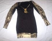 Платье-туника,  размер 42-44,  б/у
