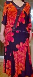 Платье Одесса большой размер недорого, 56 размер