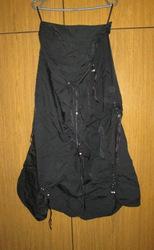 Модная юбка плащевка