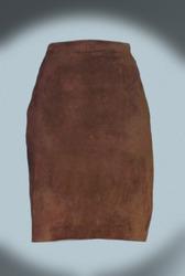 Замшевая юбка Pelle Studio