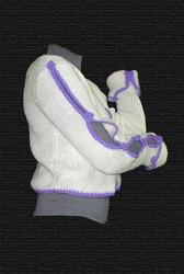 Укороченный свитер Hand Made