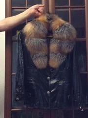 Женская куртка натуралка кожа и мех Турция 44, 46