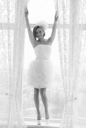 Продам свадебное платье бу можно использовать ка выпускное цвет айвори