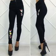 Продам новые джинсы с высокой талией чёрные.
