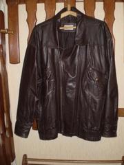 Куртка кожаная Индия