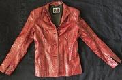 Пиджак кожаный (женский)
