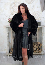 Роскошная шуба из меха норки размер 54 56 махаон