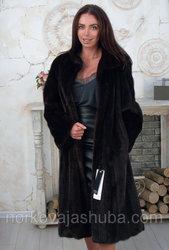 Женская шуба норковая махаон размер 48 50