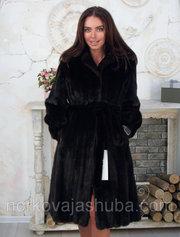 Женская шуба норковая размер 40 42 44 распродажа