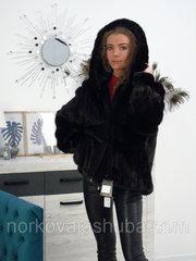 Женская шуба с капюшоном размер 46 48 распродажа