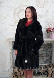 Женская шуба норковая размер 46 48 под пояс распродажа